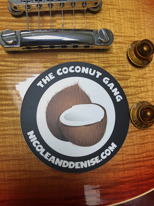 COCONUT GANG Sticker