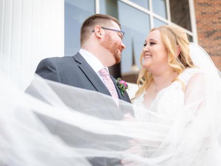 Derek & Melissa's Wedding at College Church