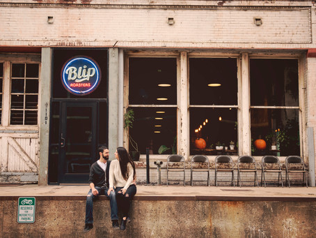 Blade & Remick's West Bottoms Engagement Shoot
