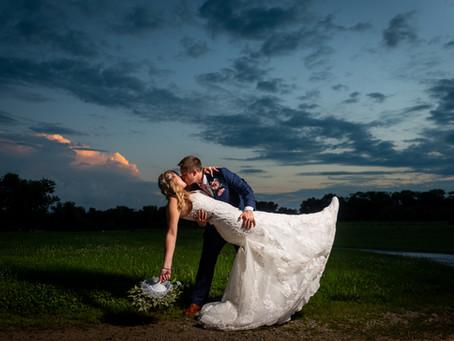 Tyler & Leah's Wedding at Powell Gardens