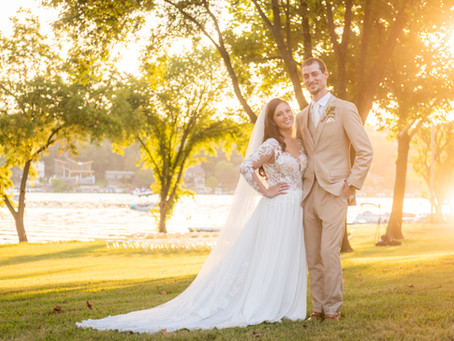 Tyler & Sara's Wedding at Lake Quivira Yacht Club