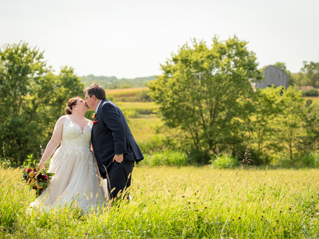 Michael and Lindsey's Wedding at Weston Red Barn Farm