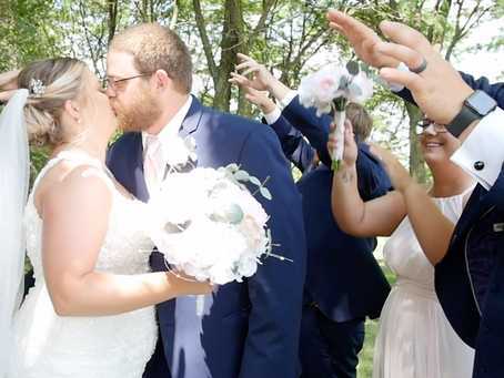 Jarod & Jessica's Wedding at Mozingo Lake Recreation Park