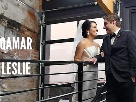 Leslie & Qamar's Wedding at The Bardot