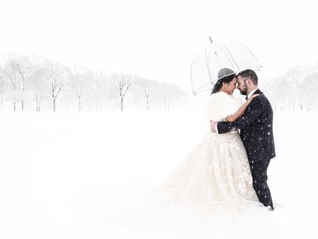 Elizabeth & Darryl's Winter Wonderland Wedding
