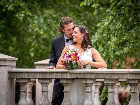 Jonathan & Stephanie's Wedding at Garozzo's