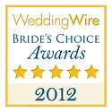 2012 Wedding Wire Bride's Choice Award for Beau Vaughn Wedding Photography, Wedding Videograhy, Photobooth, DJ & Coordiation