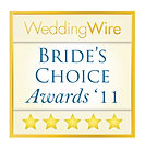 2011 Wedding Wire Bride's Choice Award for Beau Vaughn Wedding Photography, Wedding Videograhy, Photobooth, DJ & Coordiation