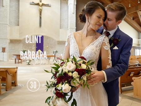 Clint & Barbara's Wedding at 244 Distillery