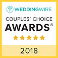2018 Wedding Wire Bride's Choice Award for Beau Vaughn Wedding Photography, Wedding Videograhy, Photobooth, DJ & Coordiation