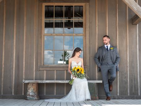 Adam & Nicole's Wedding at Weston Red Barn Farm