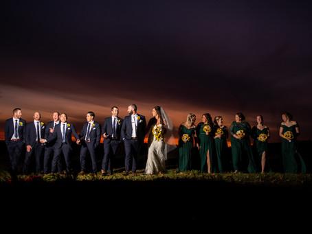 Kyle & Alysha's Wedding at Schwinn Produce Farm