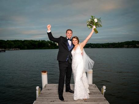 Jarett & Katie's Wedding at Lake Quivira