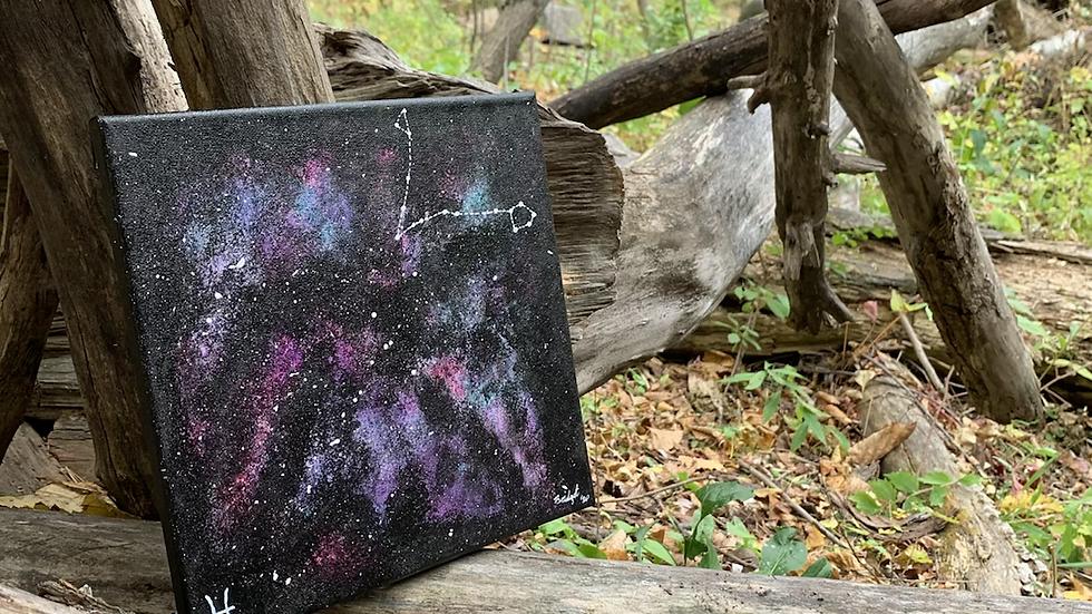 Zodiac Constellation Painting
