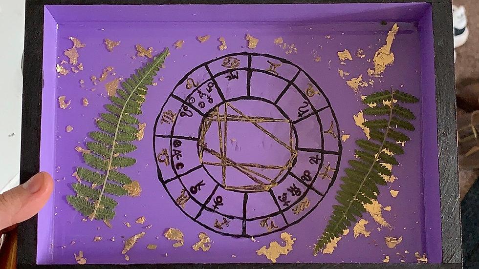 CUSTOM Hand Painted Tray