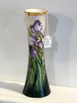 Victorian Hand-Painted Porcelain Vase
