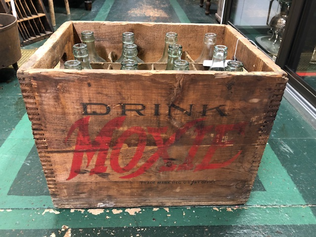 Wooden Moxie Crate