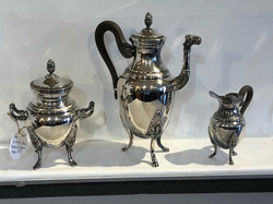 Christofle France Malmaison Coffee Set