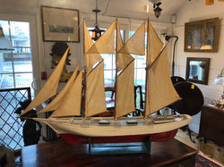 Three Masted Handmade Schooner