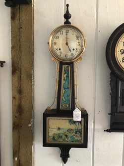 Treasure Island Banjo Clock