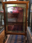 Leaded and Cameo Glass Fireplace Screen
