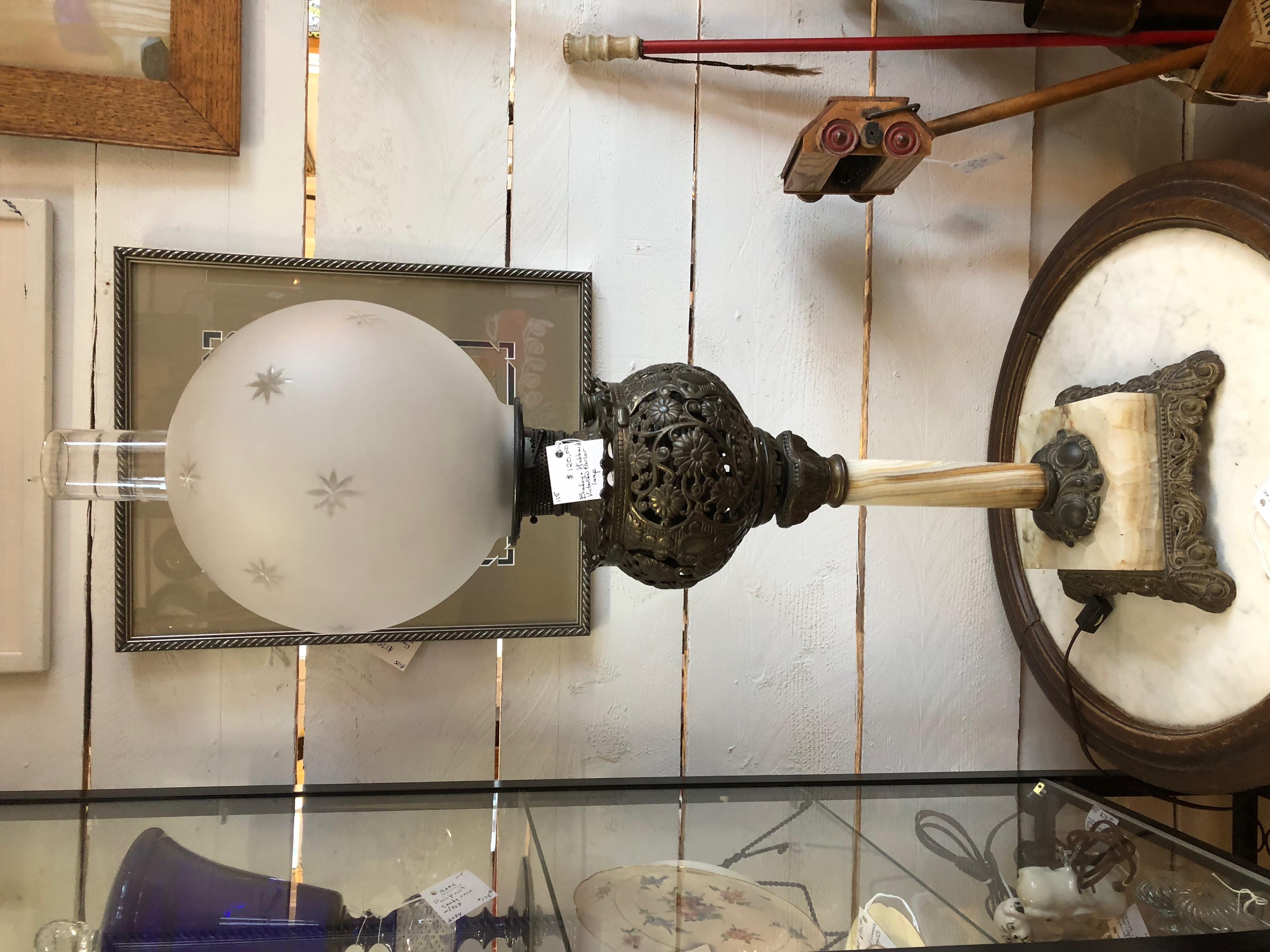 Bradley & Hubbard Victorian Parlor Lamp