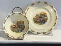 Beatrix Potter Bowl and Plate