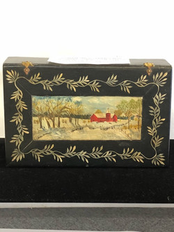 Handpainted Wooden Box