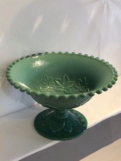Imperial Glass Footed Bowl