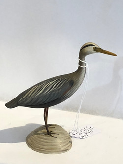 Hand Carved Blue Heron