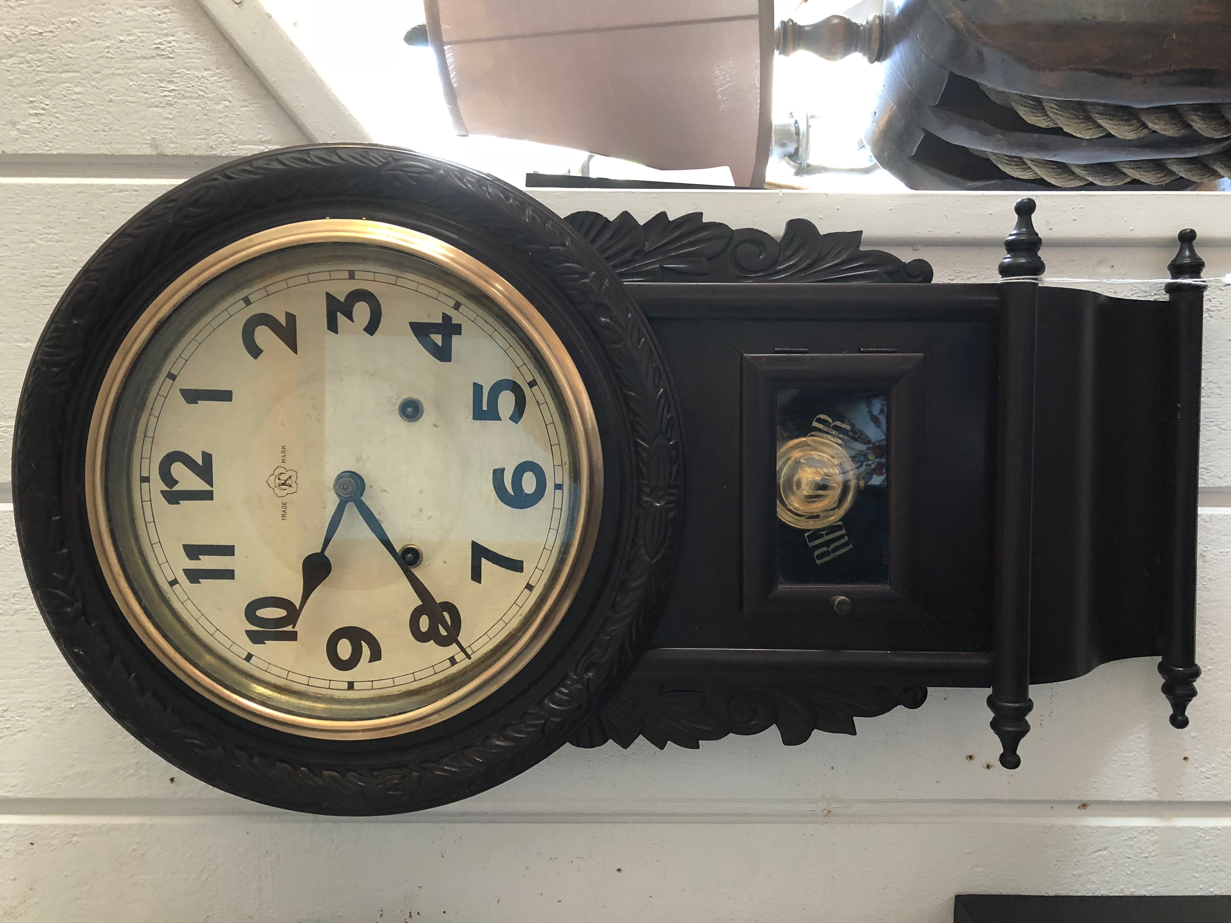 Carved Parlor Clock