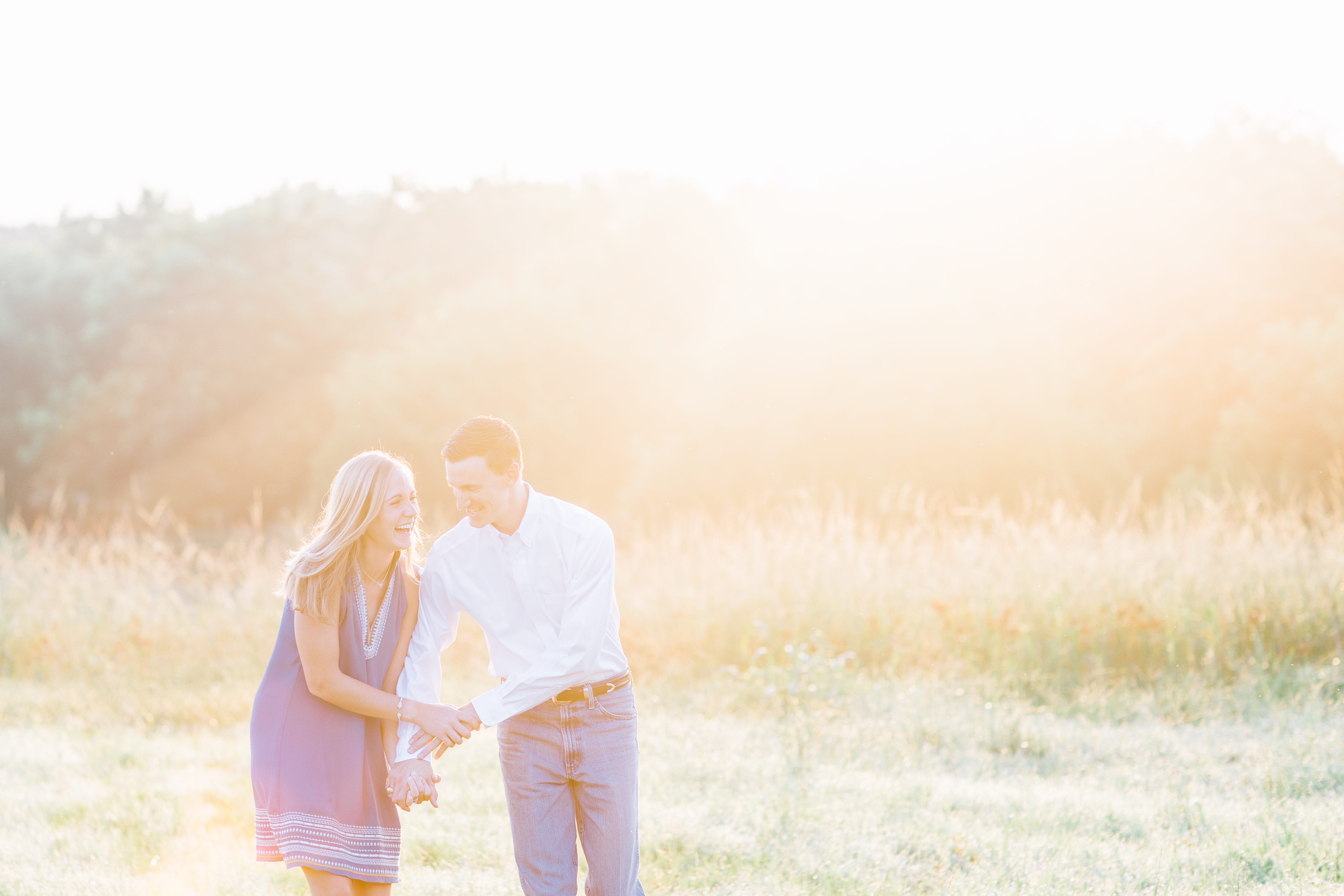 College Station engagement photograp