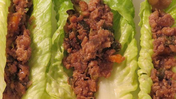 Allergen and Gut Friendly Lettuce Wraps