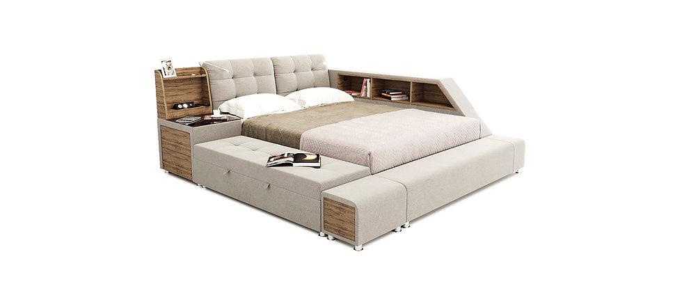 Ліжко модульне Атланта Люкс