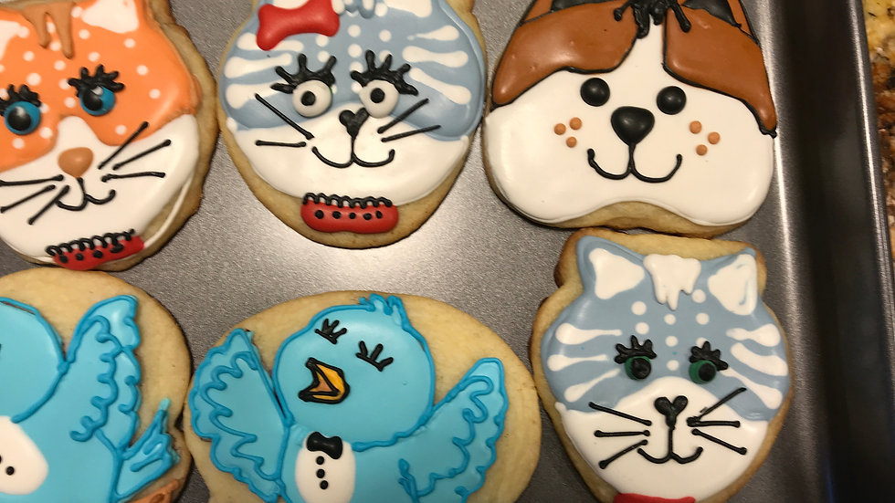 Cats n Dogs One Dozen and four designs