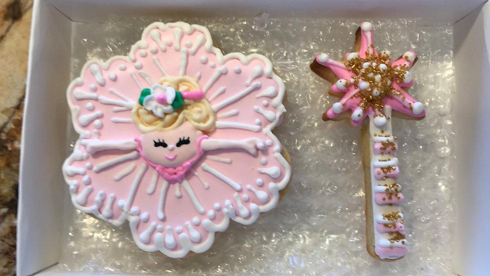Pretty Princess Birthday One Dozen and includes 4 designs
