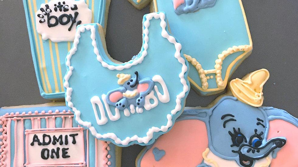 Dumbo Baby Shower One Dozen