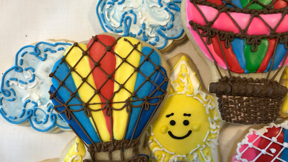 Hot Air Balloon Party- One dozen and three designs