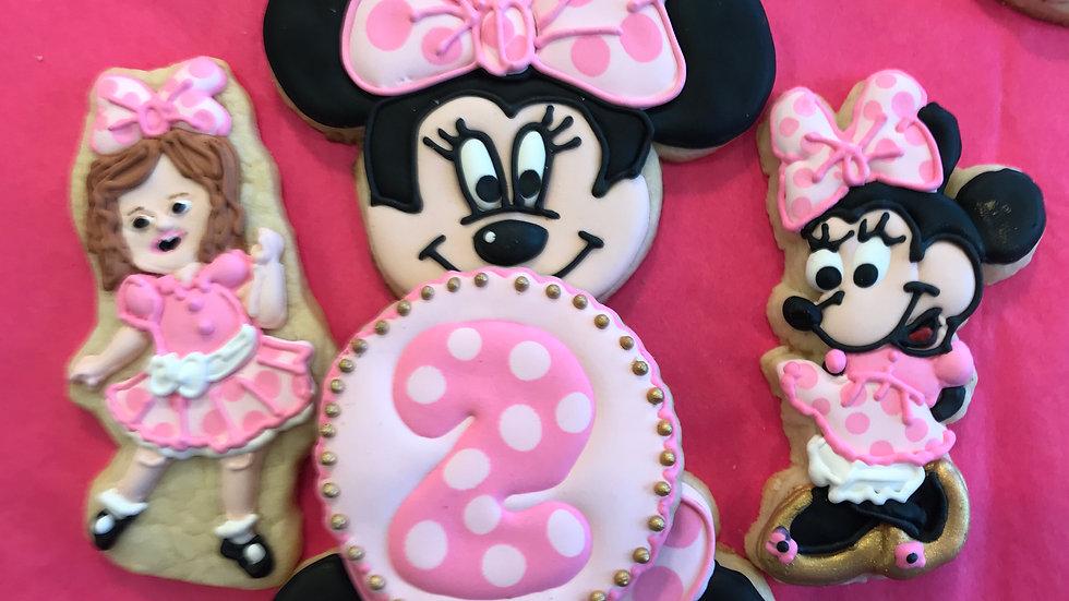 Minnie Mouse Birthday Party - one dozen