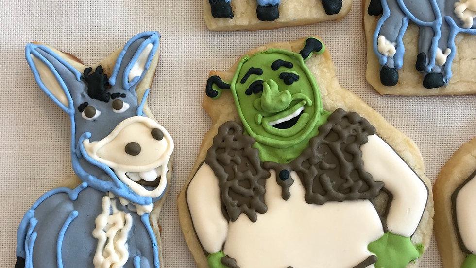 Shrek and Donkey Set -One Dozen