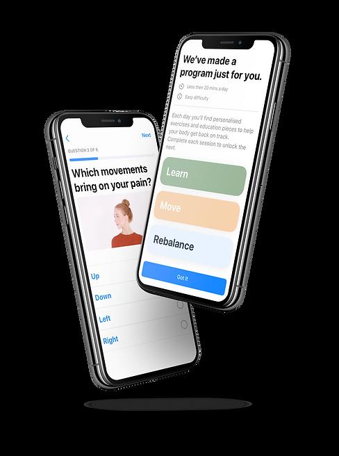 BodyGuide App Pain Programs Personalised