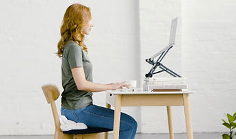 Ergonomic Desk and Office Set Up