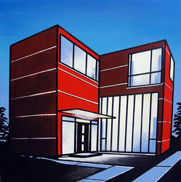the red house. (SOLD)