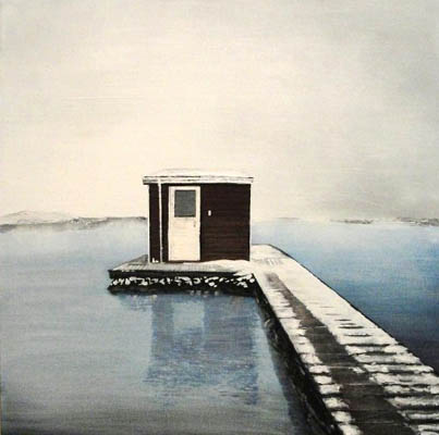 solitude in iceland. (SOLD)