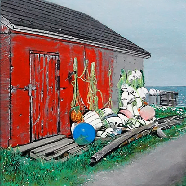 rocky harbour. (SOLD)