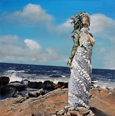 goddess by the sea.(SOLD)
