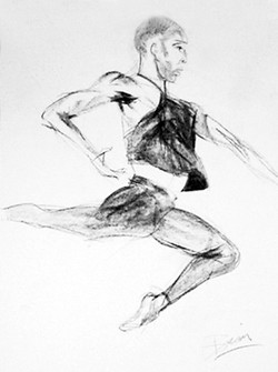 the dancer.