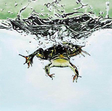 frog splash.