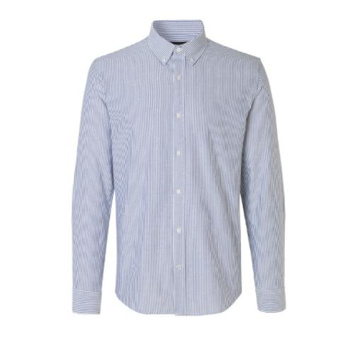 Mads Nørgaard - Striped Oxford Skjorte