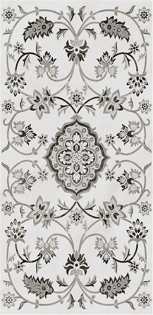 Керамогранит SG810302R Парнас серый декорированный лапп. 40х80х11